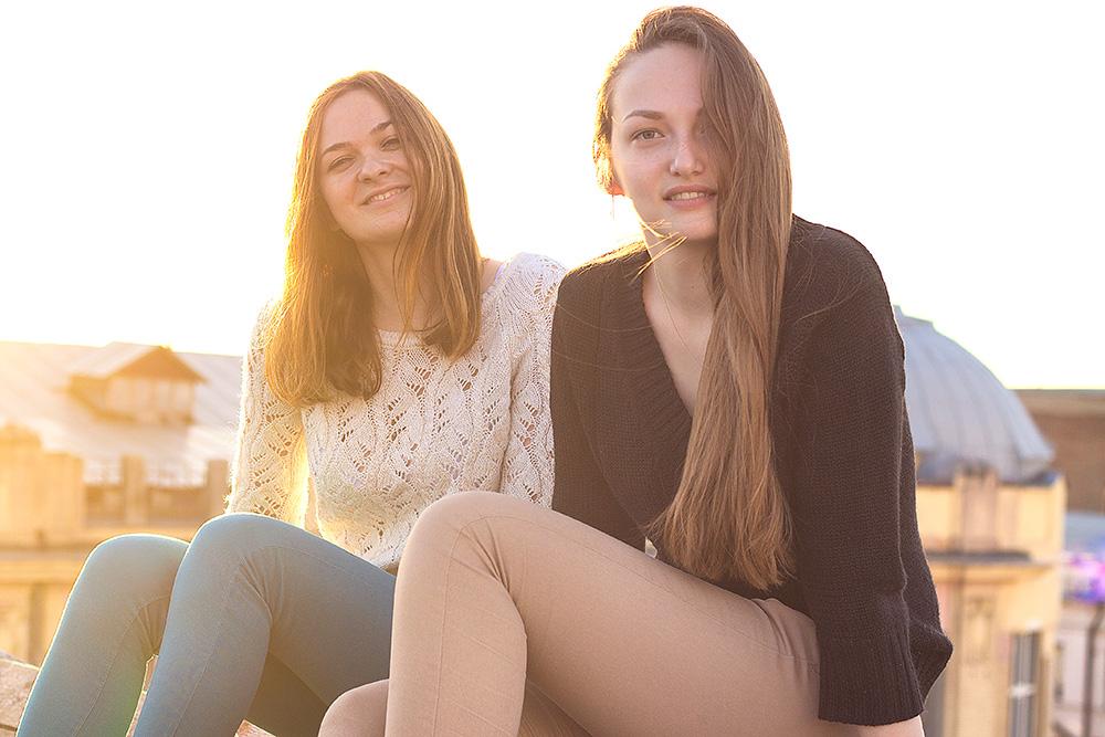 Кристина и Екатерина